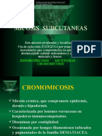MICOSIS  SUBCUTANEAS 1