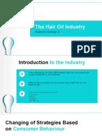 Hair Oil PPT