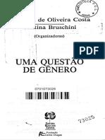 1992 sf DIAS, M. Odila. Teoria e método dos estudos feministas
