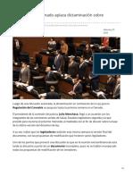 26/Febrero/2020 Entre alegatos Senado aplaza dictaminación sobre cannabis