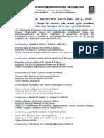 Programa de Proyecto escolares 2019 - 2020.docx