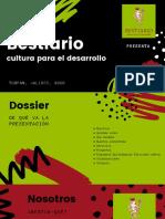 Propuesta Bestiario, cultura para el desarrollo