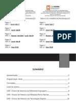 Caderno - Programação e resumos