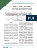Estado Actual de la Práctica de la Ingeniería de Software en México