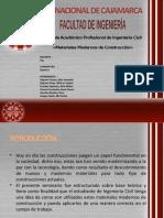 MATERIALES MODERNOS DE CONSTRUCCION