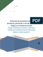 Protocoloactuacionpresenciaarmasdrogasentornoescolar