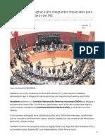 19/Febrero/2020 Piden a CNDH designar a dos integrantes imparciales para elección de consejeros del INE