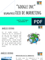 Caso google inc. plan de marketing