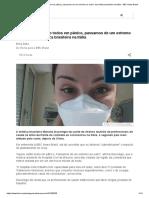 Coronavírus_ 'Estão todos em pânico, passamos de um extremo ao outro', diz médica brasileira na Itália - BBC News Brasil
