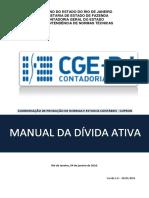 Manual da Divida Ativa Siafe Rio Final