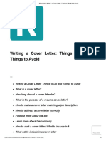 What Not to Write in a Cover Letter_ Common Mistakes to Avoid