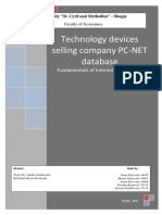 Technology Device Selling Company Database