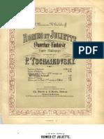 IMSLP17501-Tchaikovski Romeo Et Juliette Piano 4 Hands