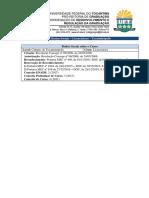 Regulação da Graduação em Ciências Sociais (Licenciatura)