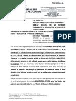 SUTRAN- CIEZA- ISMENIA- NOTIFICARME VALIDAMENTE