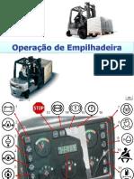 Operação de Empilhadeira - Comandos e Procedimentos Iniciais