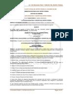 Ley de Educación Física y Deporte Del Distrito Federal