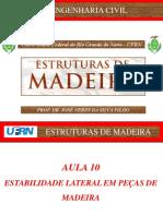 AULA_10_Estruturas de Madeira
