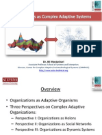 Organizations as Complex Adaptive Systems