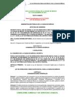 Ley de Operación e Innovación Digital Para La Ciudad de México.