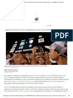Santos de 2010 Foi Mais Importante Do Que Você Lembra No Futebol Brasileiro - 10-03-2020