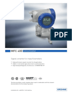 Krohne-mfc400-datasheet