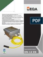 Equipo electrónico de ignición EN12_ES