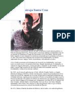 Marcelo Quiroga Santa Cruz por Mariano Baptista Gumucio