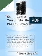 Os Contos de Terror de Howard Phillips Lovecraft.pptx