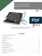 Manual de Instruccion U6 LED TRADC