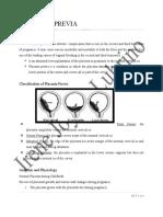 Placenta Previa Info