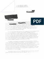 NSA Glomar Response to FOIA RE