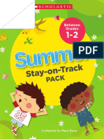 Summer Stay on Track grades 1 to 2