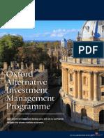 oxford-alternative-investment-management-programme-prospectus