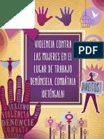 Violencia contra la mujer en el lugar de trabajo, internacional