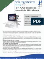 Panasonic Toughbook CF-AX2 - PacificDataSystems_CF-AX2