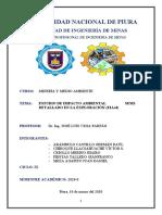 ESTUDIO DE IMPACTO AMBIENTAL SEMI-DETALLADO EN LA EXPLORACIÓN (EIAsd)