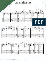 Partituras de Musica Mexicana Para Guitarra Volumen 1