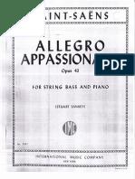 Allegro Appassionato Op 43 Saint Saēns Ed IMC