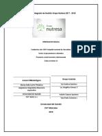 Final  Informe de Gestión Grupo Nutresa 2018 y 2017