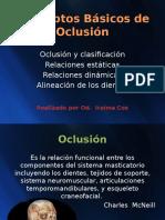 t 1 Conceptos basicos de oclusion