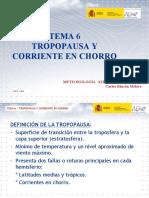 TEMA 6.- TROPOPAUSA Y CORRIENTE EN CHORRO