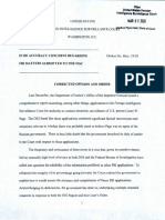 Order from Foreign Intelligence Surveillance Court in Carter Page warrant case March 5th, 2020 19 pagesISC Court Cases Carter Page Warrant March 6th 2020 19 Pages