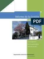 Informe de Gestión Parlamentaria 2016-2017