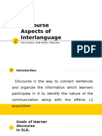Discourse Aspects of Interlanguage PPT.pptx