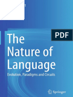 The Nature of Language Evolution, Paradigms and Circuits by Dieter Hillert