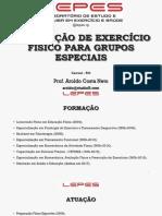 Prescrição de Exercício Físico para Grupos Especiais - Prof. Aroldo Costa Neto FINAL.pdf