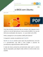 Atualizando a BIOS com Ubuntu