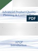 APQP & Control Plan Training - Presentation Slides - Working Template