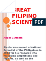 Great Filipino Scientists